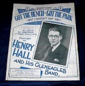 sheet music from 1931