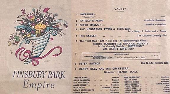 Finsbury Park, 1940