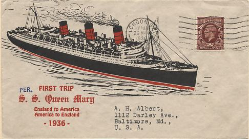 Queen Mary Maiden Voyage With Henry Hall